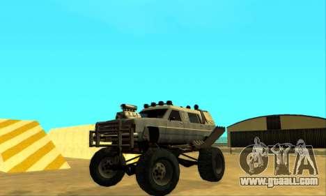 Hellish Extreme CripVoz RomeRo 2015 for GTA San Andreas upper view