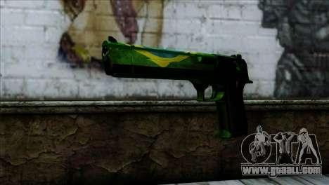 Desert Eagle Brazil for GTA San Andreas