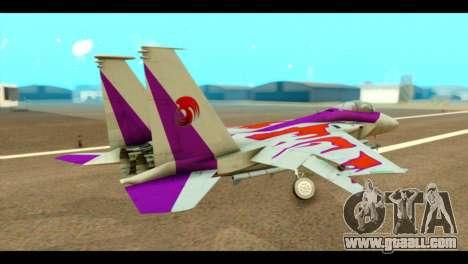 F-15C Air Combat for GTA San Andreas left view