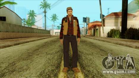 Big Rig Alex Shepherd Skin for GTA San Andreas