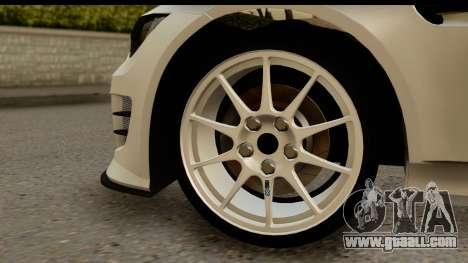 BMW M3 E90 Hamann for GTA San Andreas back view