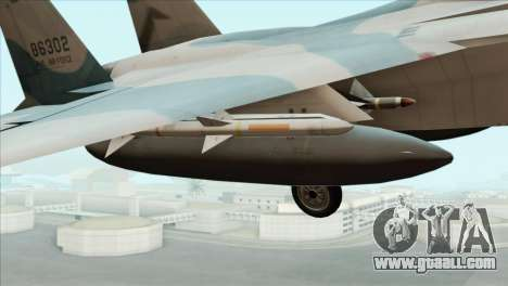 McDonnell Douglas F-15D Philippine Air Force for GTA San Andreas right view