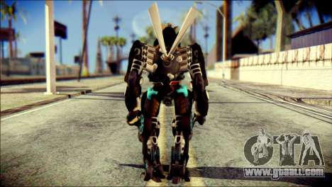 Drift Skin from Transformers for GTA San Andreas second screenshot