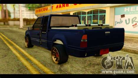 Isuzu Dragon for GTA San Andreas left view