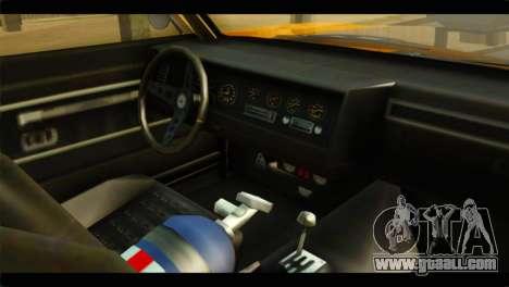 GTA 5 Declasse Sabre GT Turbo IVF for GTA San Andreas right view
