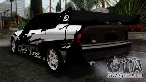 BMW M3 E36 Drift Editon for GTA San Andreas left view