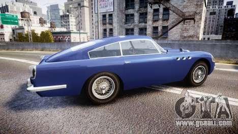 GTA V Dewbauchee JB 700 for GTA 4 left view