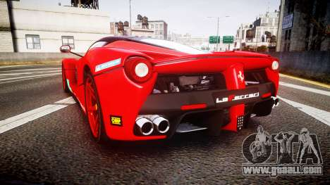 Ferrari LaFerrari 2013 HQ [EPM] PJ4 for GTA 4 back left view