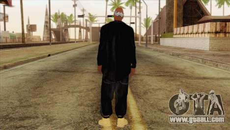 Tupac Shakur Skin v1 for GTA San Andreas second screenshot