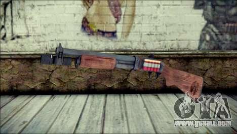 Rumble 6 Chromegun for GTA San Andreas