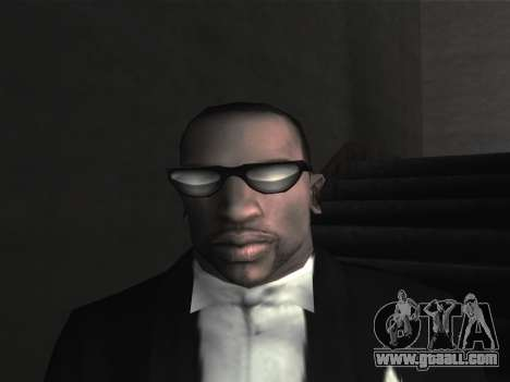 New glasses for CJ for GTA San Andreas sixth screenshot
