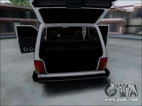 Lada Niva for GTA San Andreas engine