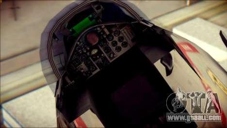 McDonnell Douglas F-4B Phantom II for GTA San Andreas back view