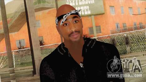 Tupac Shakur Skin v1 for GTA San Andreas third screenshot