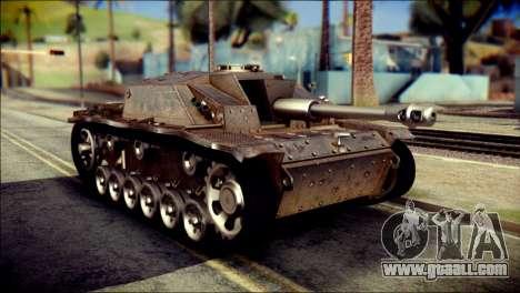 StuG III Ausf. G for GTA San Andreas