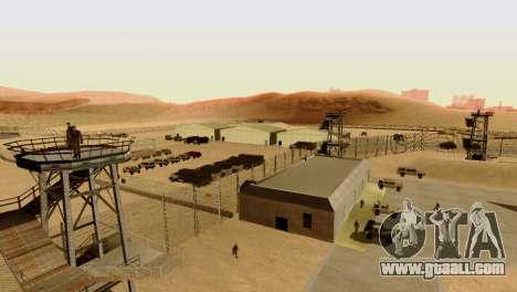 DLC 3.0 Military update for GTA San Andreas ninth screenshot