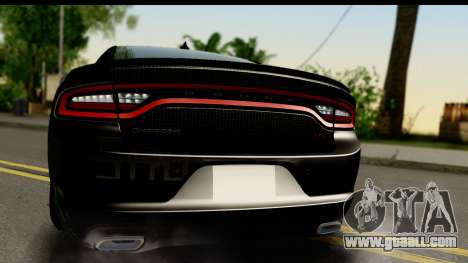 Dodge Charger RT 2015 Sword Art for GTA San Andreas right view