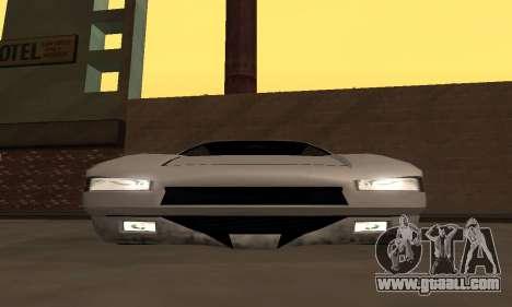 Infernus BanDit for GTA San Andreas right view