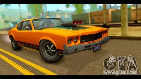 GTA 5 Declasse Sabre GT Turbo IVF for GTA San Andreas