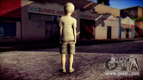 Dante Child Skin for GTA San Andreas second screenshot