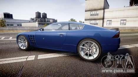 GTA V Ocelot F620 R for GTA 4 left view
