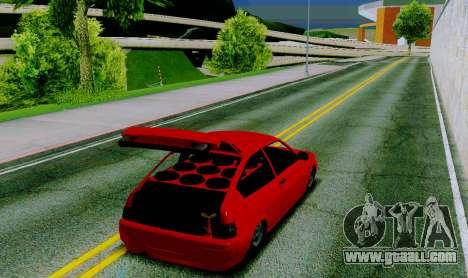 VAZ 2112 for GTA San Andreas back left view