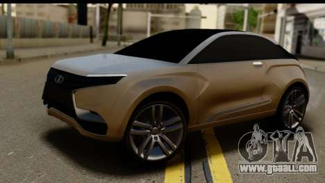 Lada XRay Concept v0.8 for GTA San Andreas