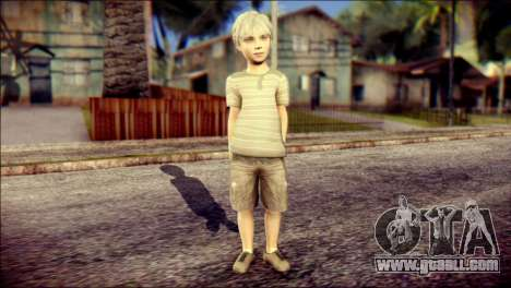 Dante Child Skin for GTA San Andreas