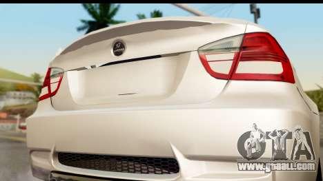 BMW M3 E90 Hamann for GTA San Andreas right view