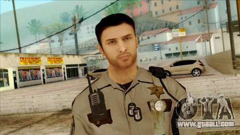 Depurty Alex Shepherd Skin for GTA San Andreas third screenshot