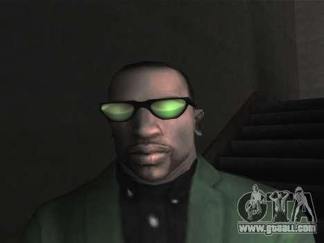 New glasses for CJ for GTA San Andreas third screenshot