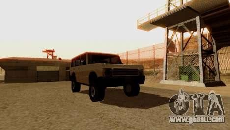DLC 3.0 Military update for GTA San Andreas tenth screenshot