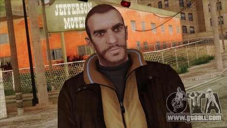 Niko from GTA 5 for GTA San Andreas third screenshot