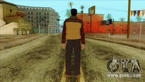 Big Rig Alex Shepherd Skin for GTA San Andreas second screenshot