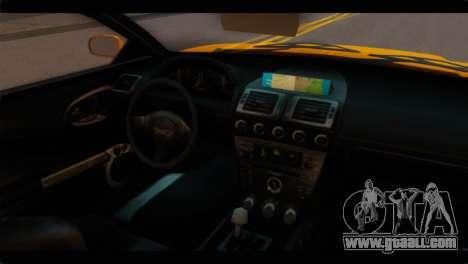 GTA 5 Dewbauchee Super GT for GTA San Andreas right view