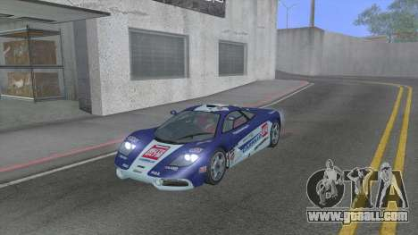 1992 McLaren F1 Clinic Model Custom Tunable v1.0 for GTA San Andreas side view