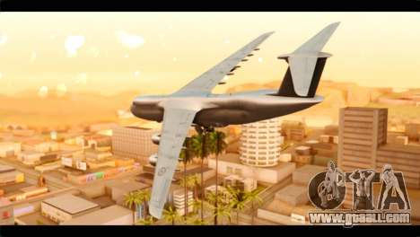 Lockheed C-5M RCAF for GTA San Andreas left view