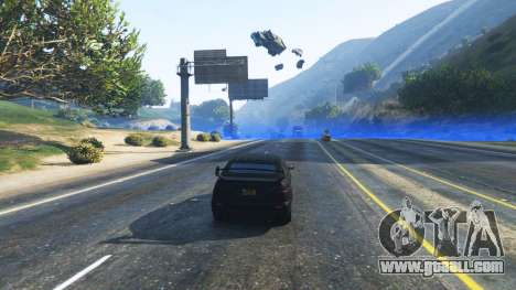 GTA 5 Force field