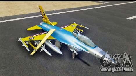 F-16C USAF 111th FS 90th Anniversary for GTA San Andreas