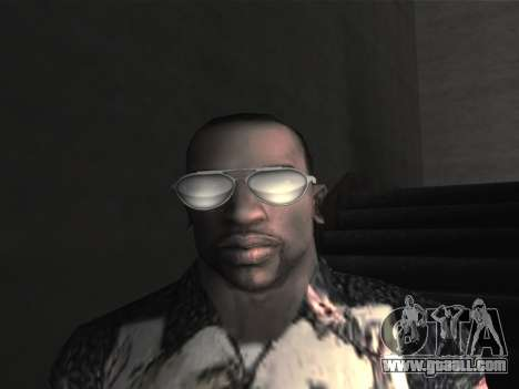 New glasses for CJ for GTA San Andreas seventh screenshot