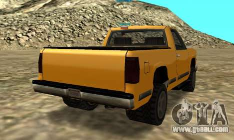 PS2 Yosemite for GTA San Andreas back view