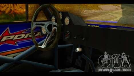 Chevy Nova NOS DRAG for GTA San Andreas right view