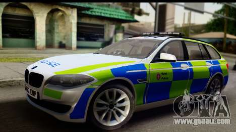 BMW 530d Kent Police RPU for GTA San Andreas