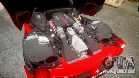 Ferrari LaFerrari 2013 HQ [EPM] PJ4 for GTA 4 upper view