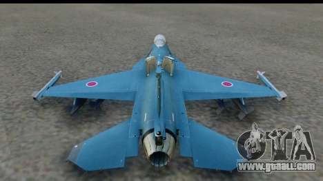F-2A Viper Blue for GTA San Andreas left view