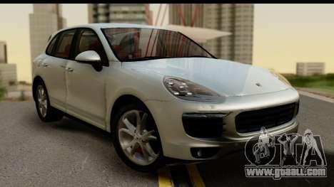 Porsche Cayenne S 2015 for GTA San Andreas