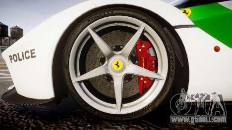 Ferrari LaFerrari 2013 HQ [EPM] PJ2 for GTA 4 back view