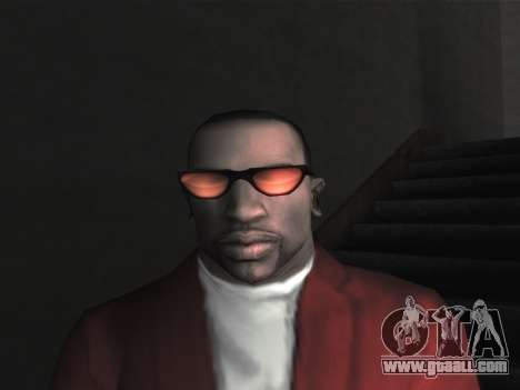New glasses for CJ for GTA San Andreas