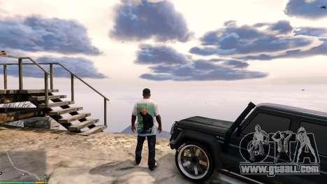 GTA 5 T-shirt for Franklin. - Fizruk third screenshot