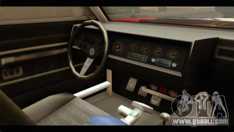 GTA 5 Declasse Sabre GT Turbo for GTA San Andreas right view
